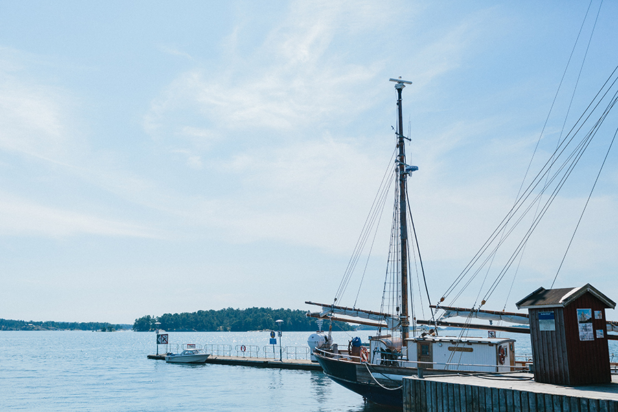Archipelago Wedding Sweden