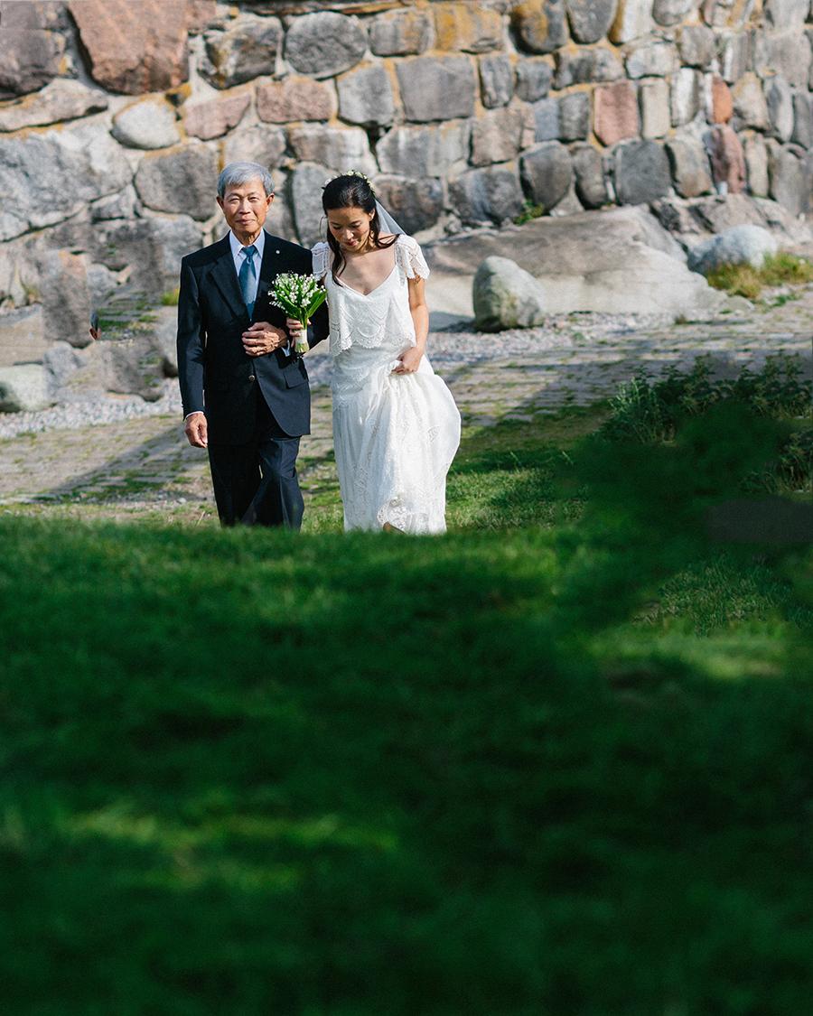 Bröllop Dalarö Skans