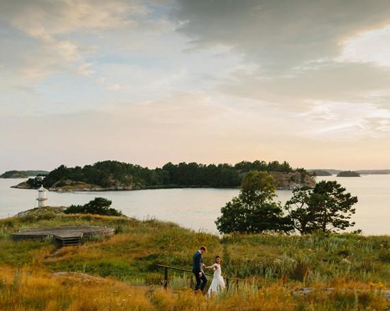 Sweden Archipelago Wedding // Katrina & Martin