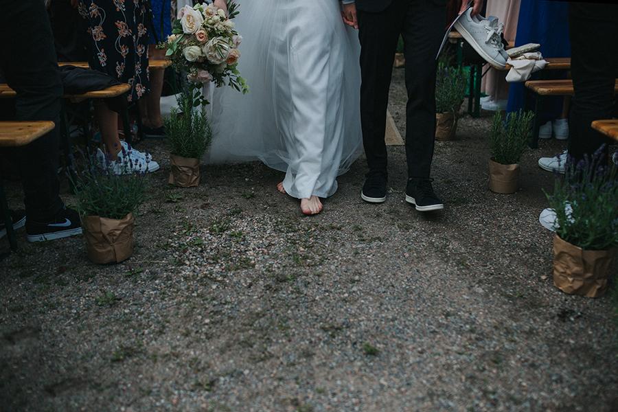 barfota bröllop