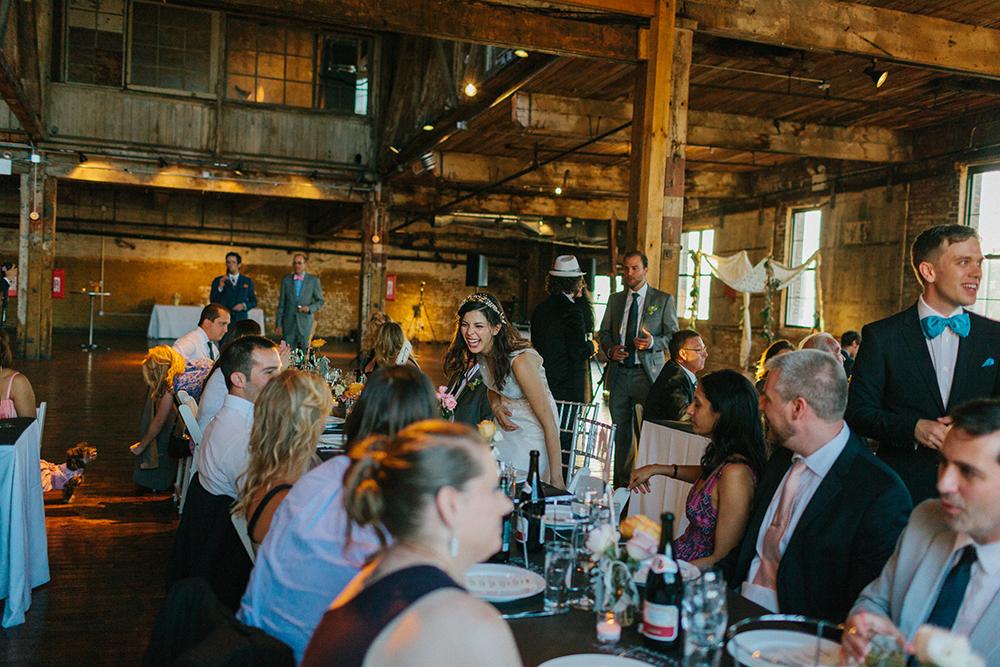 Green Point Loft Wedding Photographer