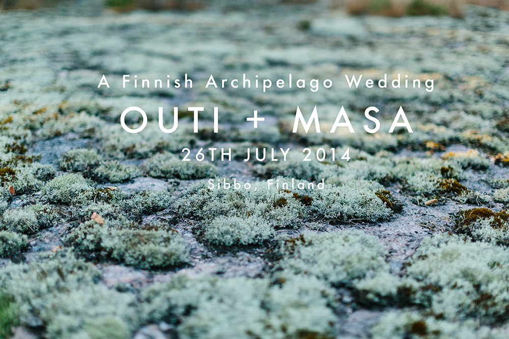 finland archipelago wedding