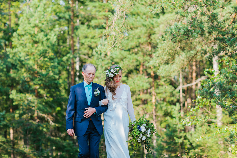 outdoor ceremony finland