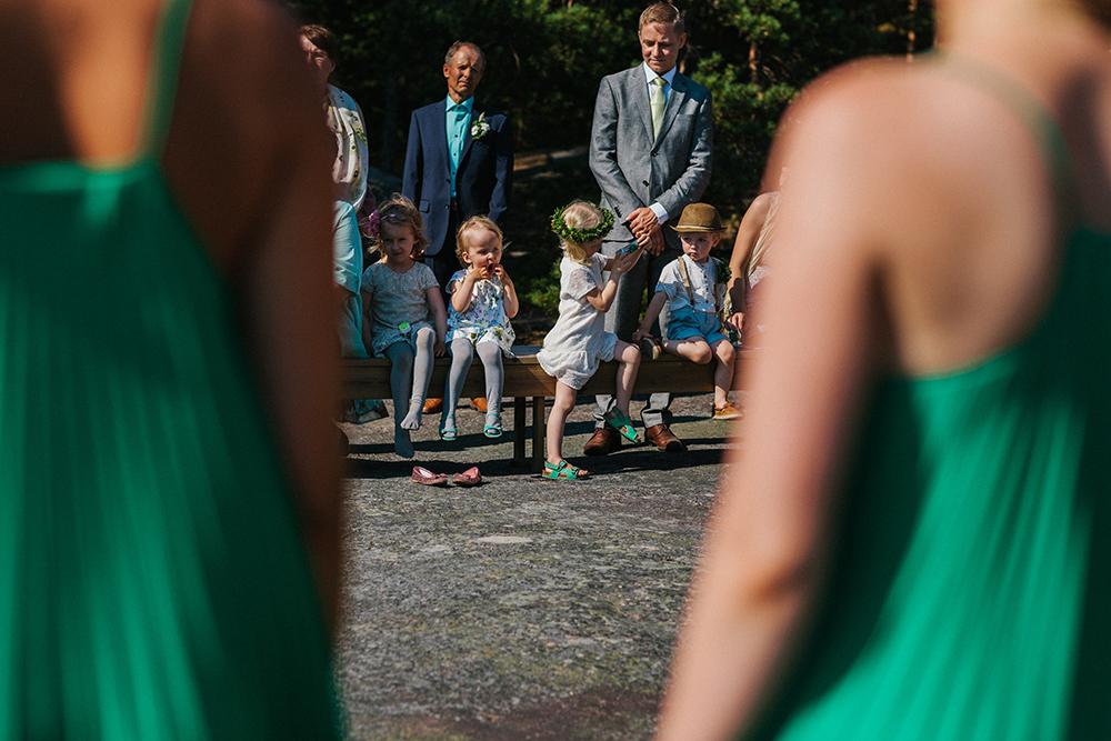 ceremony boho wedding