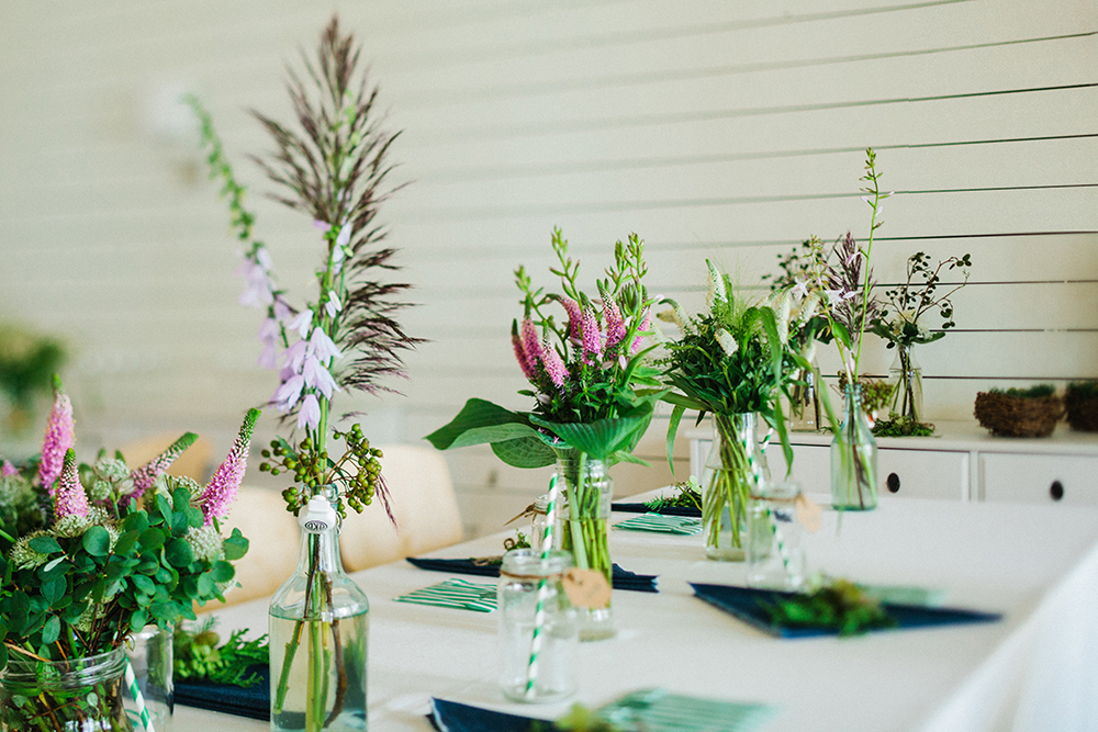 centerpieces forest