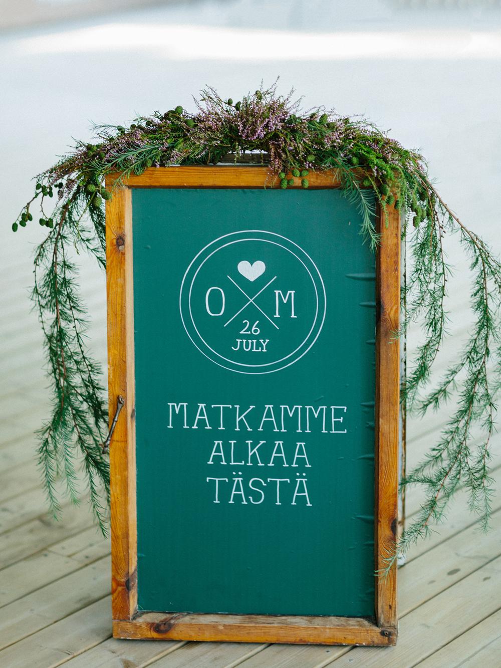 cone juniper wedding