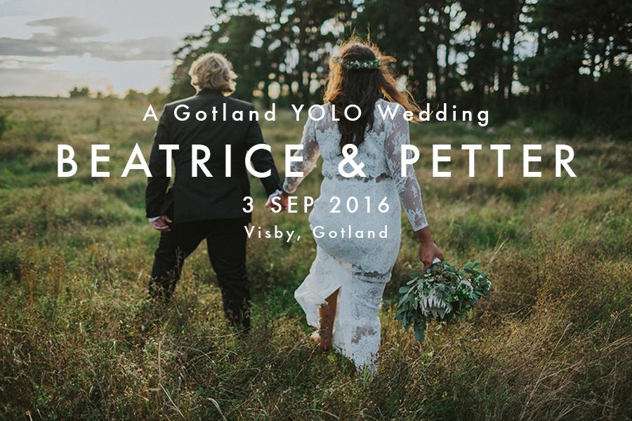 Gotland bröllopsfotograf