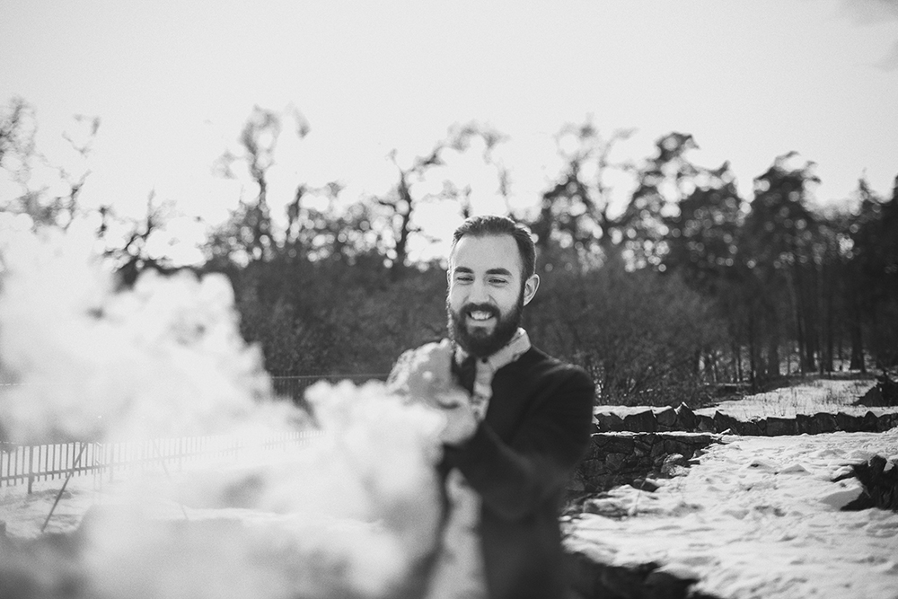smoke engagement session