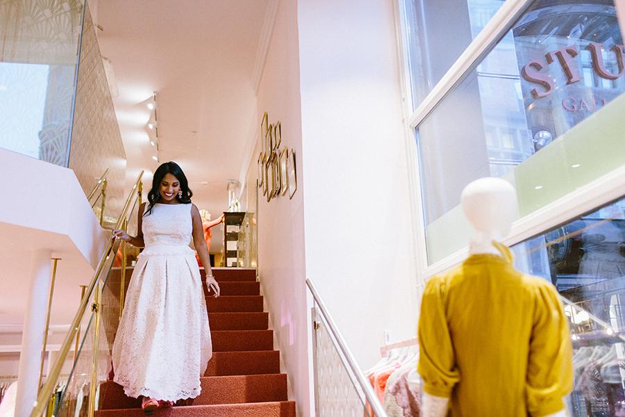 Zetterberg Couture klänning