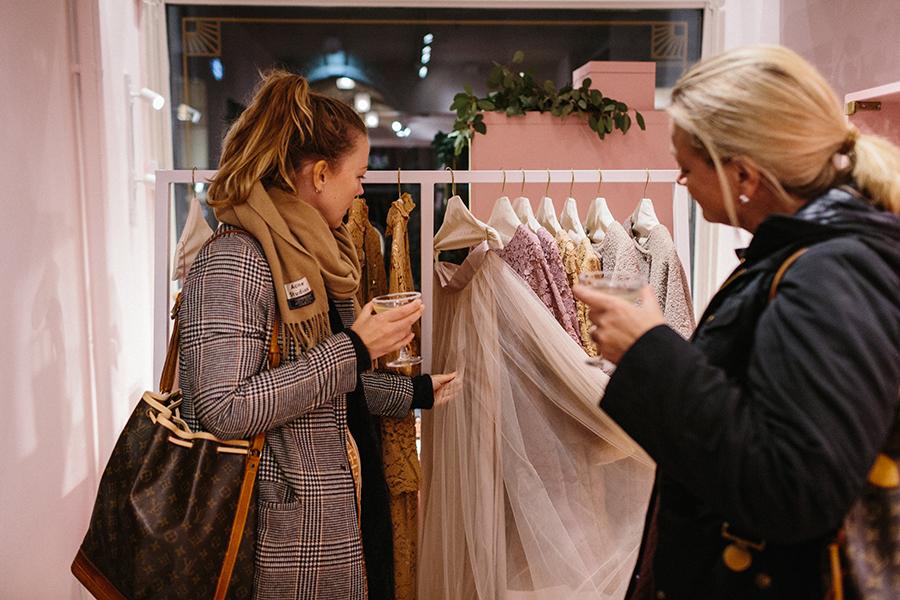 Zetterberg brudklänning butik