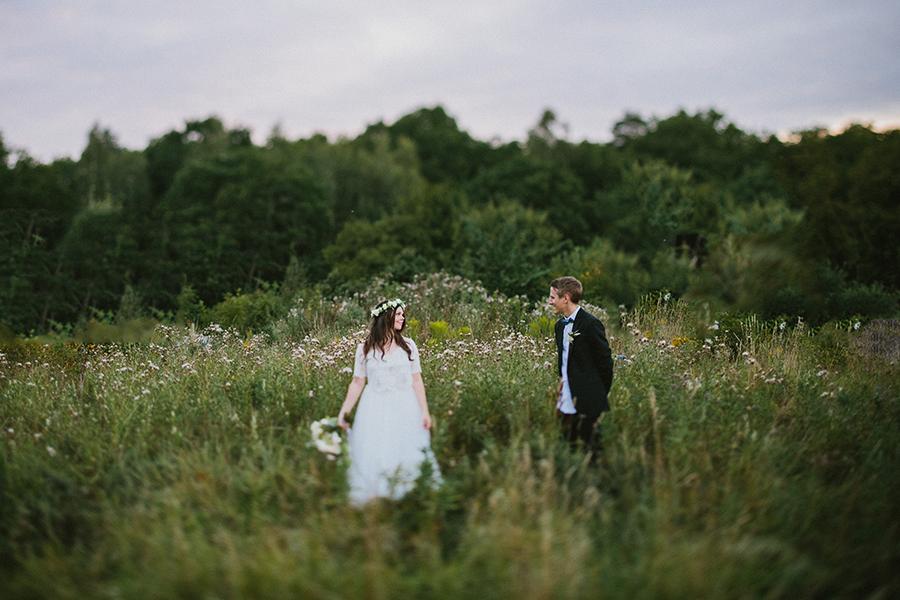 utomhusbröllop