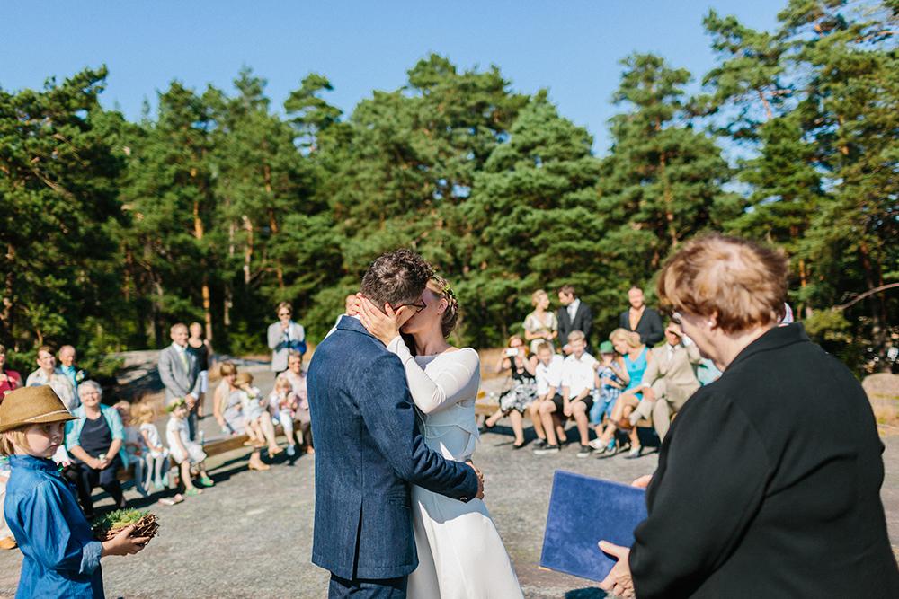 forest wedding scandinavia