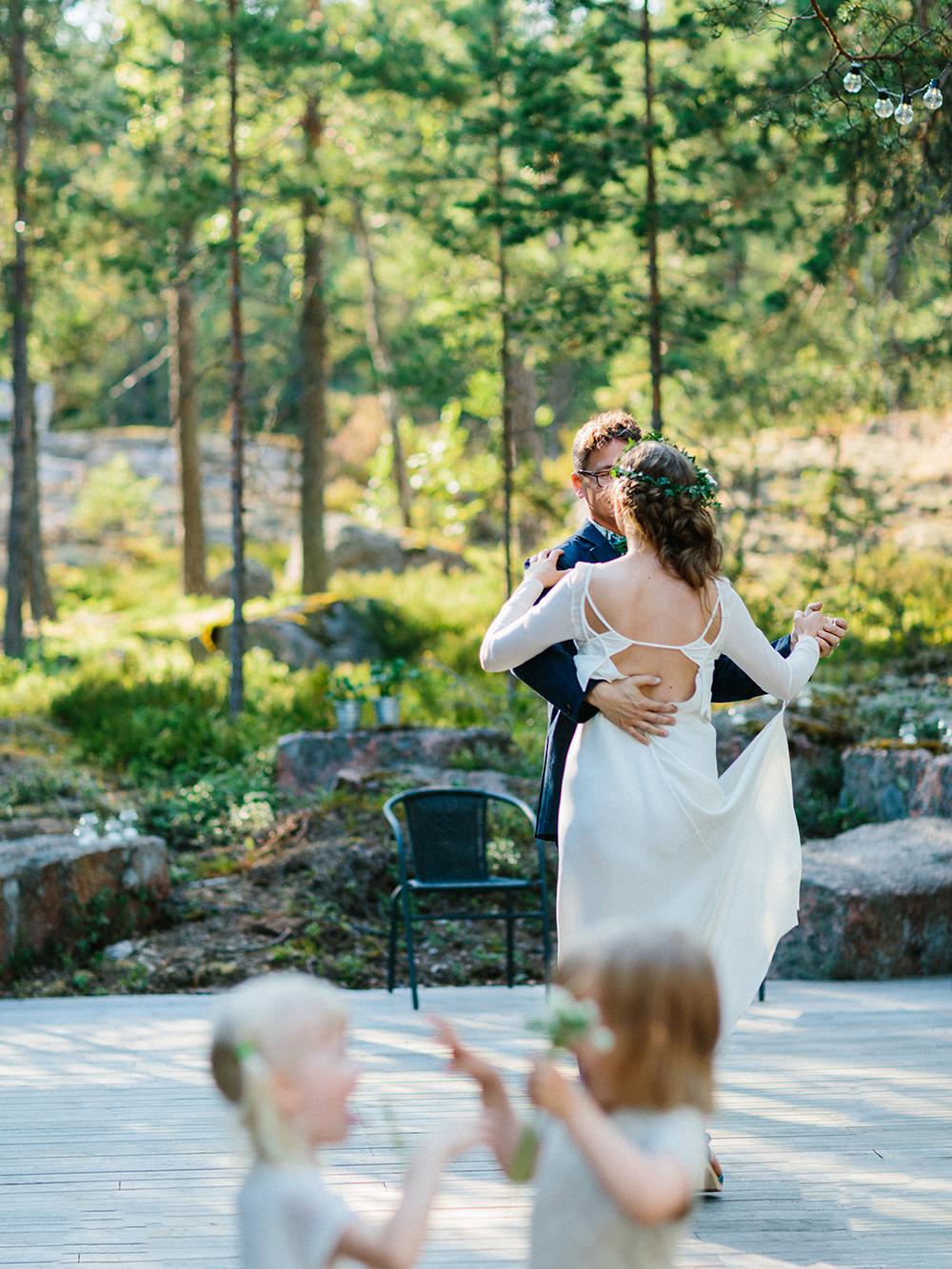 woodland first dance