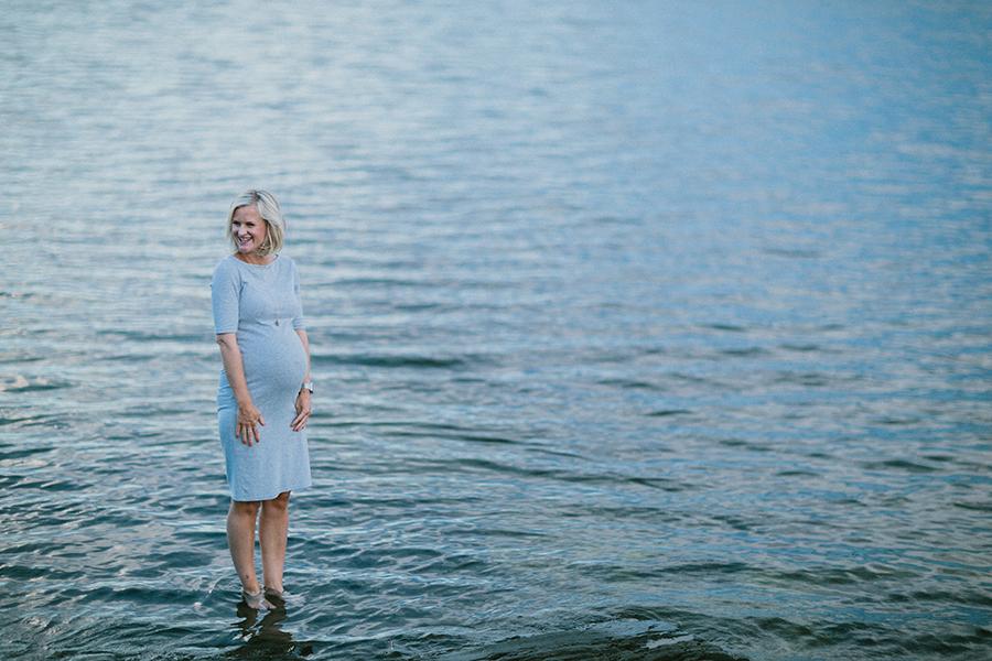 foto gravid vatten