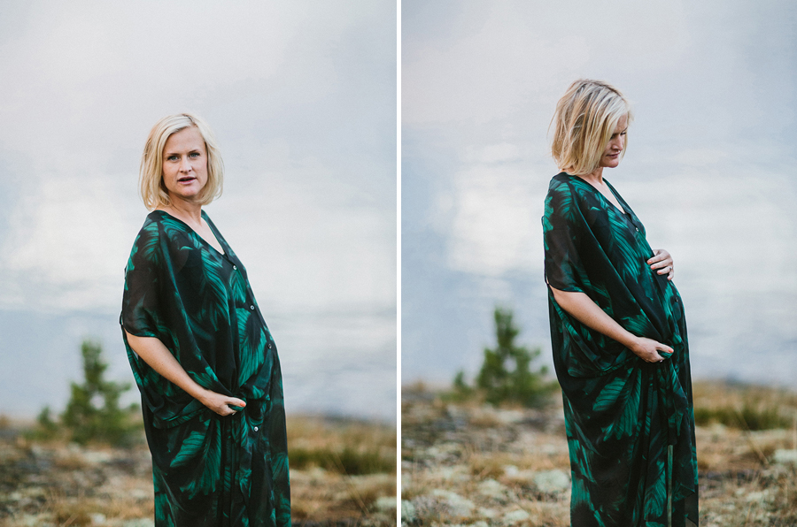 gravid foto kläder