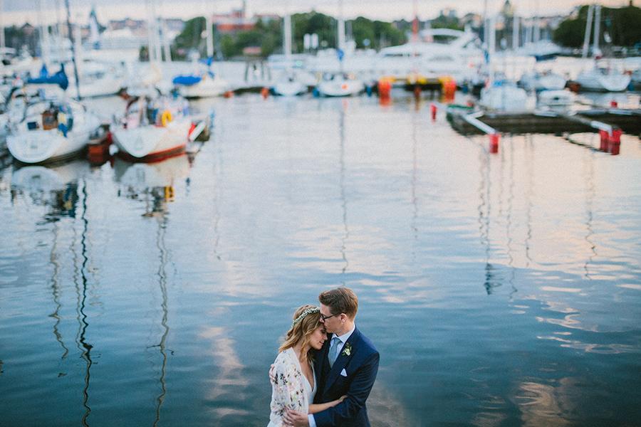 arty bröllopsfotograf stockholm